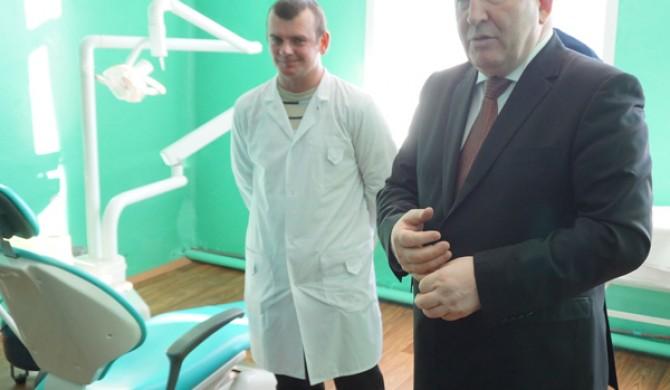 Визит губернатора края А. Б. Карлина в Солоновку