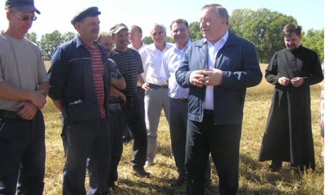 Визит губернатора А. Б. Карлина в Солоновку 1 сентября