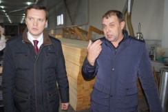 Визит вице-губернатора края Д. В. Бессарабова в Новичиху