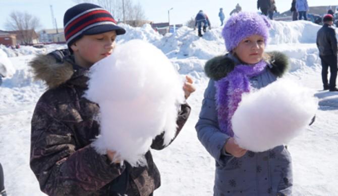 Проводы зимы в Новичихе
