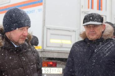Губернатор Алтайского края обратился к командованию ЦВО с просьбой помочь в проведении подрывов льда на затороопасных участках рек