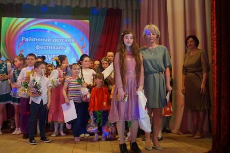 Фотоотчет с районного фестиваля детского творчества «Радуга талантов»