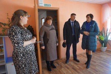 16 марта в районе с рабочей поездкой побывал Министр образования и науки Алтайского края А. А. Жидких