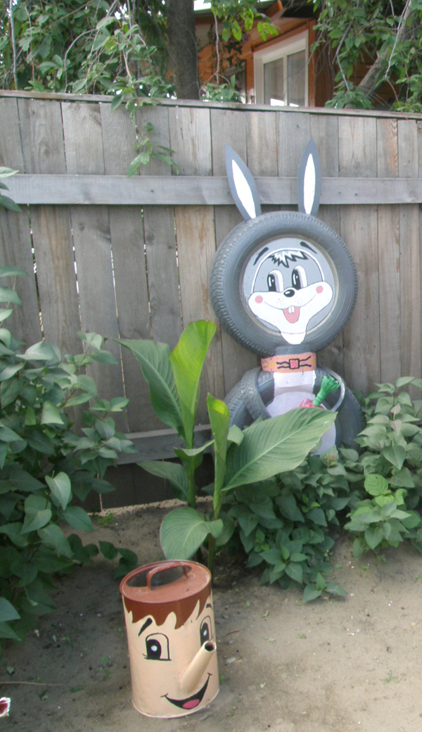 Заяц своими руками с сад 693