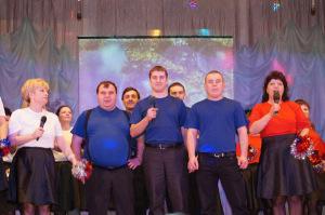 Участники Битвы хоров из ЦРБ