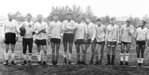 Футболисты. Август 1961 г.