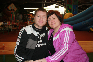 Н. Козубенко (Уварова) с мужем Александром