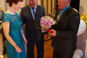 Почетной грамотой администрации края награждается Л. Л. Гончарова