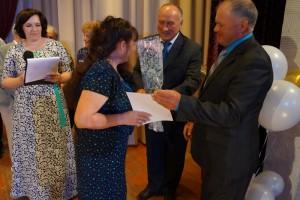 Почетной грамотой управления по печати награждается оператор верстки Л. П. Филимонова