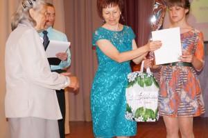 Победитель читательского конкурса З. И. Сенаторова