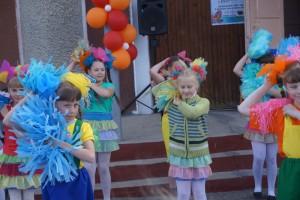 Детский праздник в Новичихе