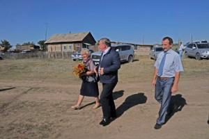 Открытие новой церкви в селе