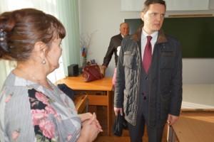 Беседа с учителем Н. Г. Фелингер