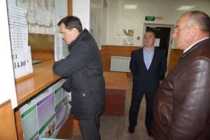 В регистратуре ЦРБ