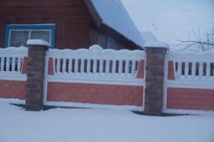 Вот такие заборы изготавливают работники ИП Гнедченко С. В.
