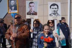 С.Н. Букреев, .М. Кривова, С.В. Романова с дочерью Анастасией