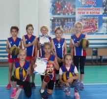 Межрайонный турнир по пионерболу среди девочек 2008-2009 г.р.