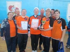 Победители -  команда Лобанихи