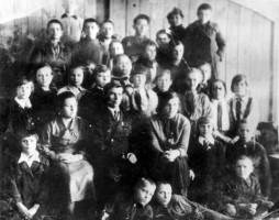 Пятый 'Б' класс в 1937 году
