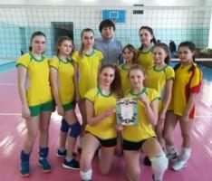 Команда волейболисток района