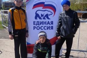 Данил Муравьев, Степан Тимошенко, Роман Костицин, Новичиха