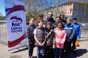 Команда школьников из Павловки