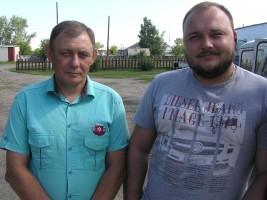 Вячеслав Михайлович Метелев и Иван Сергеевич Леер