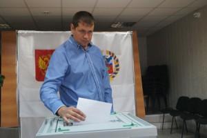На избирательном участке в лесхозе
