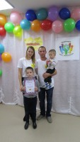 Семья Денисенко - победители
