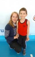 Надежда Илющенко с сыном Никитой