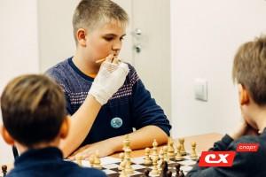 Макаренко Алексей участник краевого этапа шахматного турнира Белая Ладья