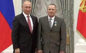 В. Путин и С. Копкин в Кремле