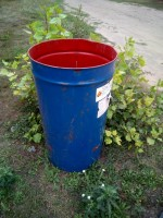 бочка мусора